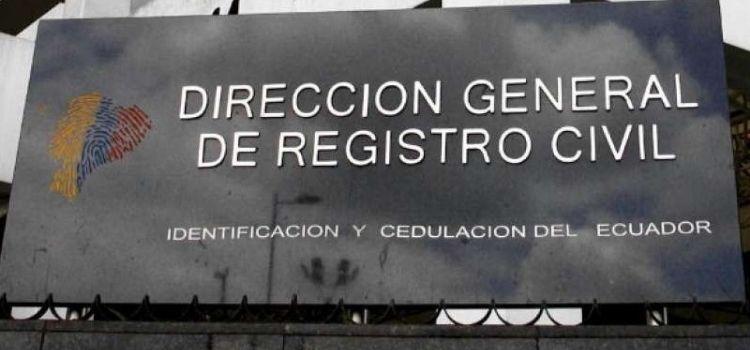 CERTIFICADO DE FILIACIÓN DEL REGISTRO CIVIL