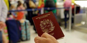 Planilla de renovación de Visa residente Venezuela